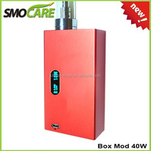 SMOCARE 40w Mini Box Mod!!! 2015 Ces Trade Show Hottest Vaporizers Wholesale From China Suppier