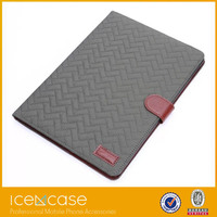 2015 Tablet pc case plastic,crystal tartan pattern PC case for Ipad air2