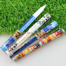 Hot selling roller ball pen with heat transfer pattern