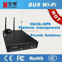 Bus cellular LTE 3G dual SIM modem as wifi hotspot