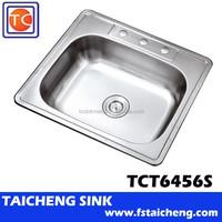 "25"" Single Bowl Stainless Kitchen Sink"