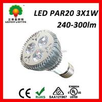 Best seller Warm white 3w par light led spot 85V 265V store lighting