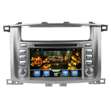 Wholesale pure android 4.4 Toyota LC100 car stereo with GPS 3G Wifi android! Good quality!