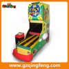 Qingfeng coin operated fancy bowling machine/electric mini table bowling game machine