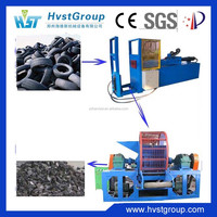 Hot selling cutting machine /hydraulic used rubber cutting machine/whole tire cutter