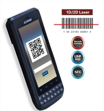 Android handheld gps pda with 1d 2d barcode scanner and NFC, protect case can be collected