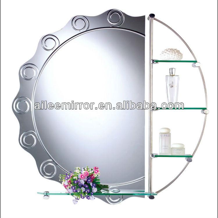 Wholesale Item Bathroom Makeup Mirror With Shelf Buy