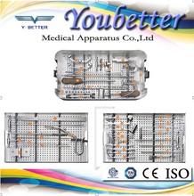 Cannulated Tibia Interlocking Intremedullary Nail Instrument Set Suzhou Youbetter orthopedic implants and instrument