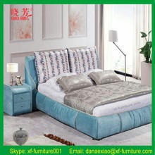 Newest luxury European style queen size best home design super soft bed by Sangiacomo Italy (XFL-1540)
