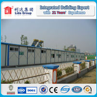 Beautiful Structure Portable Sandwich Panel Prefab Labor Camp/Steel House