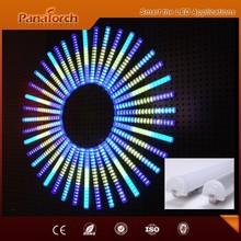 Intelligent DMX512 compatible Led video tube light for building lighting