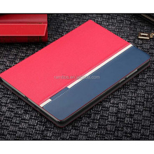 PU Leather Folio Case Stand Cover Customized Wallet Card Holder for Samsung T110/ GALAXY Tab 3 Lite