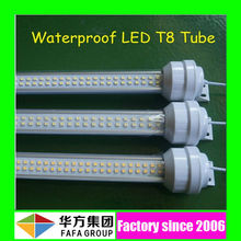 SMD3528 led tube t8 1x36w waterproof fluorescent lighting fixture with 3 5 years warranty