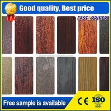PVDF colour coated aluminium sheet/colour painted aluminium sheet