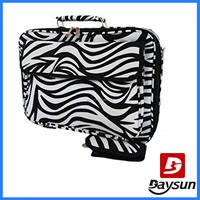Fashionable Zebra Laptop Bag Case for 17 Inch