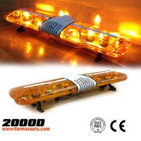 Used amber emergency light bars for Police Fire Trucks