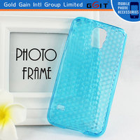 Hot Selling Colorful Diamond Pattern TPU Case For Galaxy S5,For Samsung S5 Diamond Pattern Case
