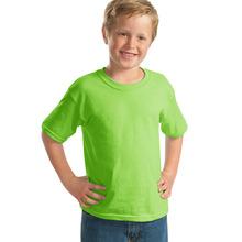 2015 children kid boys cotton fashion short sleeve solid color T-shirt