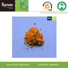 natural iron oxide orange foundry sands