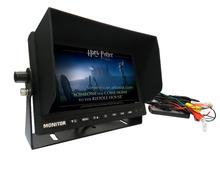 PAL/NTSC digital auto monitor wirh 4PIN/RCA/BNC/S-vedio(optional) connector