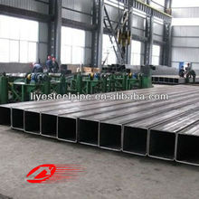 large S235JO square steel pipe building materials
