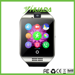 2016Nice Smart Watch Q18 with Touch Screen camera TF card Bluetooth smartwatch for Android and IOS smart watch Q18