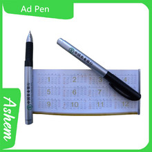 New arrvial hot sale customied gift pen with logo printing ,M-709