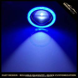 Motorcycle Blue LED Decorative Strobe Flash Warning Spot Light Lamp For Honda