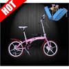 Professional China Aluminum Titanium Alloy Folding Free Ride Bicycle