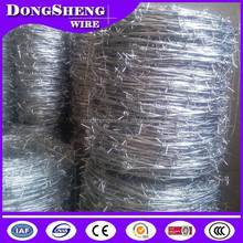 galvanized barbed wire on sale by factory 2015 in china