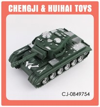 Plastic model army tank toy military vehicle toy