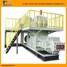 low investment high profit business, high profitable production line EV45B red soil brick making machine