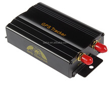 Remote engine off vehicle GPS tracker 103B TK103A SMS/GPRS dual-mode switching gps103 car gps tracker fuel/ACC/door/SOS alarm