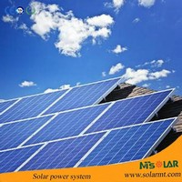 Ground-Mounted on-grid PV System Solar Photovoltaic Solutions 10KW to supply usable electric power from net energy for solar PV