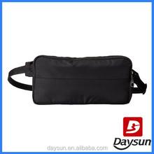 Black side waist fanny pack pouch bag for men
