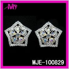 Top Design Crystal Jewelry Fashion 2015 Drop Earring MJT-100829