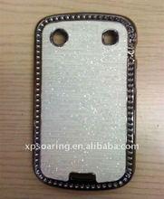 for Blackberry 9900 chrome plastic case skin cover