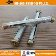 vendita calda di alta qualità buon prezzo giallo acciaio al carbonio zincato struttura in metallo di ancoraggio m8