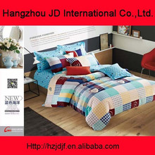 new design plaid comforter set for kids and adults