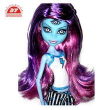 2013 nuevo plástico old fashioned monster hight de la muñeca