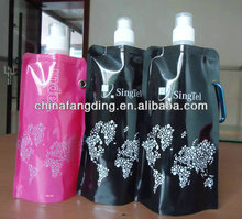 plastic collapsible water bottles/flexible