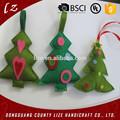 tela artesanías casa decoraciones navideñas hechos a mano sentía el árbol de navidad decoración
