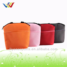 Promotional polyester insulated cooler bag for lunch