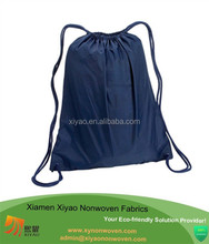 Drawstring Backpack Sackpack Sack Pack BLUE & GRAY Sack Packs and Gym sack