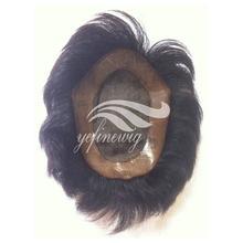 Human Natural Hair Wig For Men