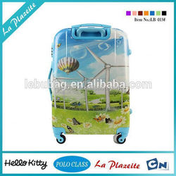 hot new fashion arrival children travel trolley luggage bag