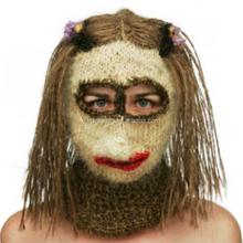funny design ski knitting hat