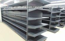 Black supermarket shelf/ supermarket gondola / electronic display shelf