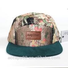 venta al por mayor 5 sombreros panel personalizado de 5 paneles sombreros