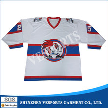 Manufacturer cheap oem branded ice hockey jersey